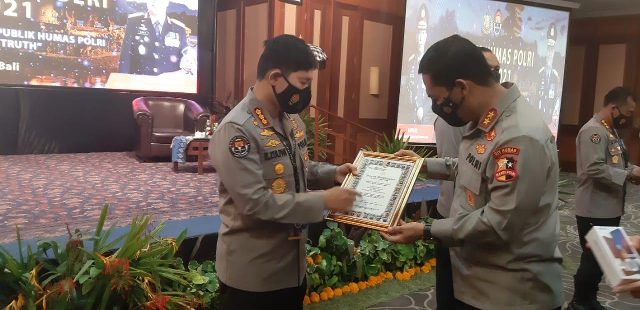 Kabid Humas Polda Sulsel, Raih Penghargaan Humas Terbaik I Se-Indonesia