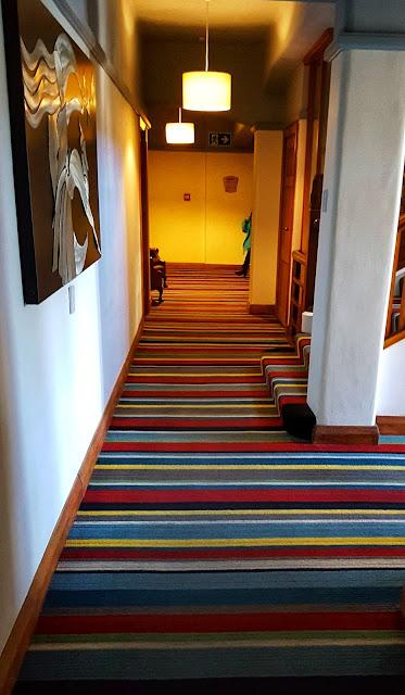 Art Deco Masonic Hotel corridor (Napier, NZ)