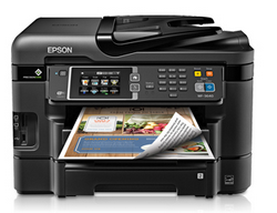 Epson WorkForce WF-3640  driver download for windows mac os x linux