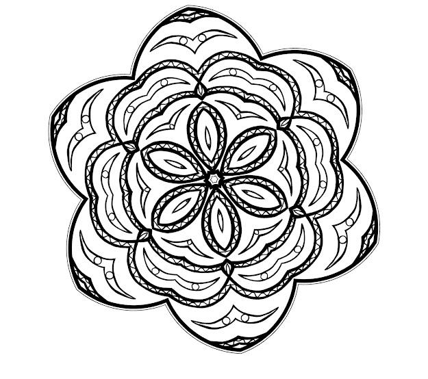 Free Printable Mandalas Coloring Sheets