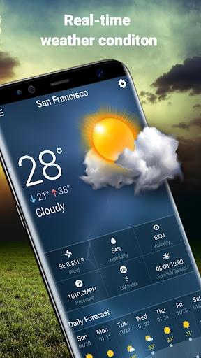 Weather Widget & Battery Checker  screenshots 3