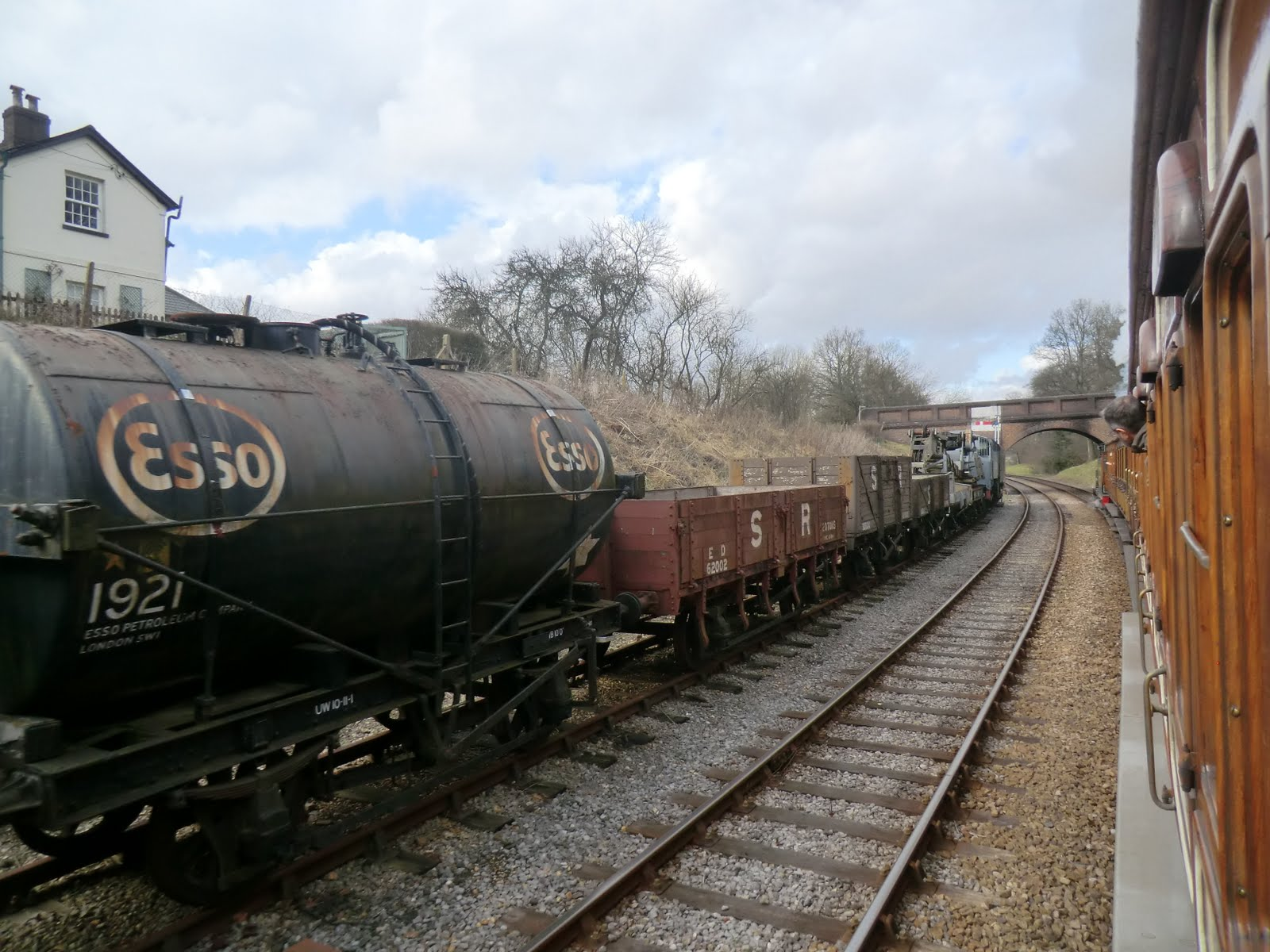 CIMG6232 The 16:17 leaving Horsted Keynes station
