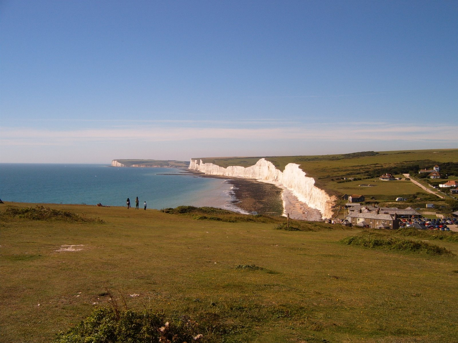 7 Sisters from above Birling Gap