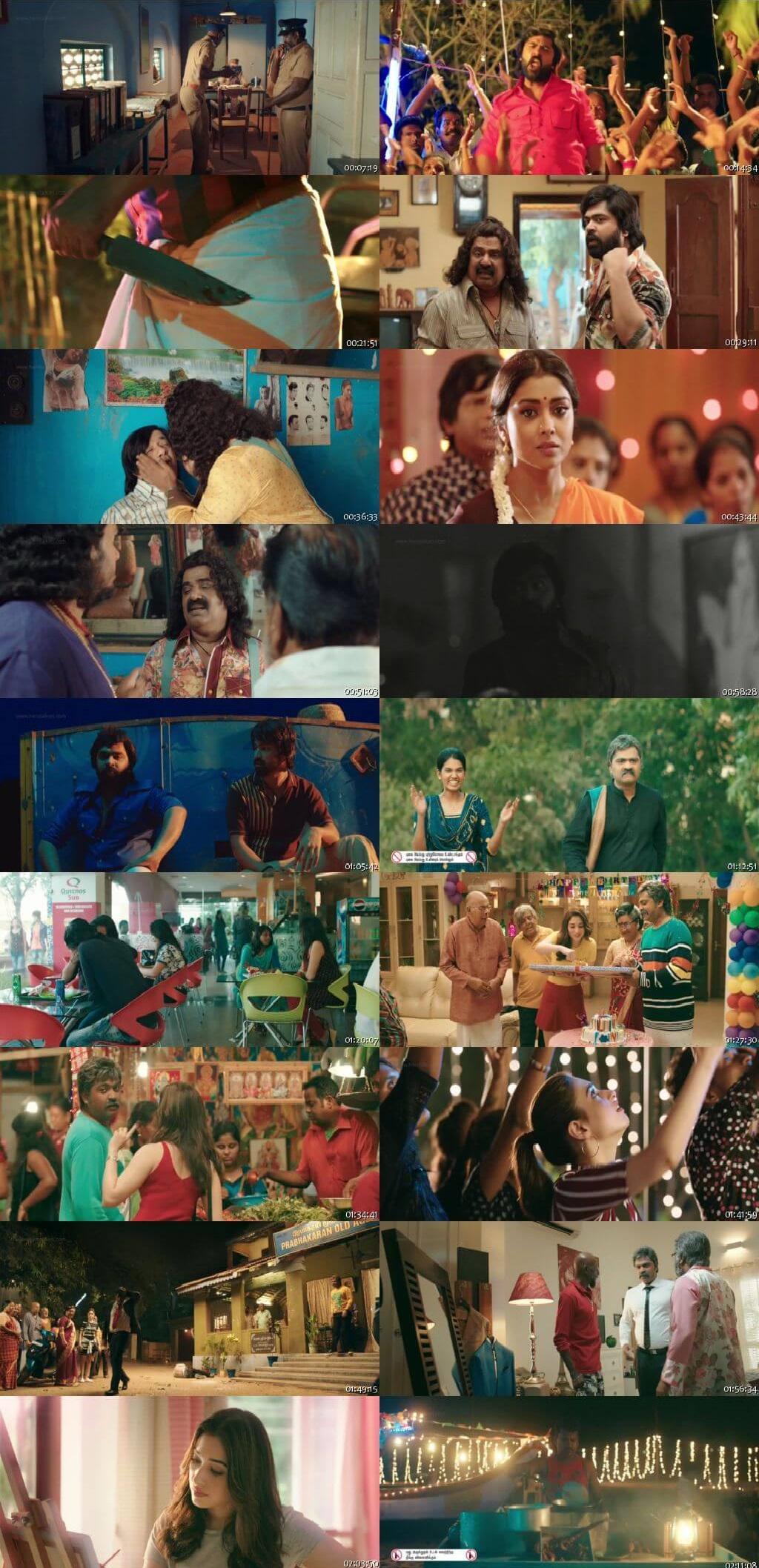 Screen Shot Of Anbanavan Asaradhavan Adangadhavan 2017 300MB Full Movie Hindi Dubbed Free Download 480P BRRip Small Size PC Movie