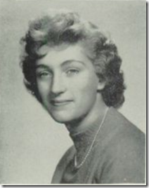1958 Graduation Picture - Carolyn Kriebel