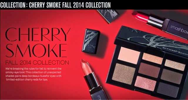 cherry smoke smashbox fall 2014
