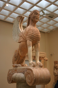 Sphinx of the Naxians, Delphi Archaeological Museum