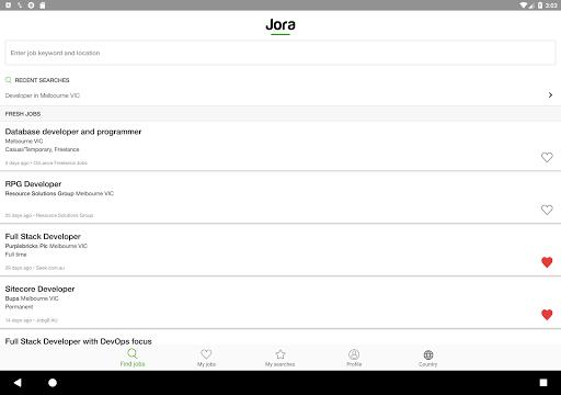 Jora Job Search for PC