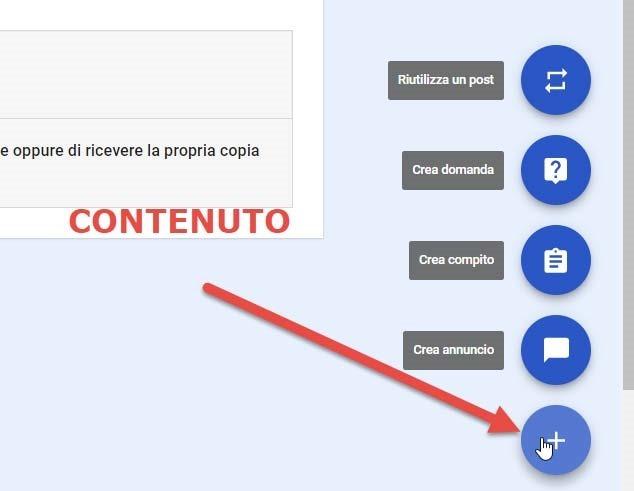 aggiungere-contenuto-classroom