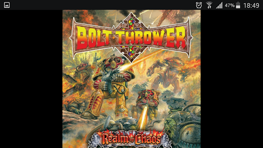 Bolt Thrower - Realm of Chaos: Slaves to Darkness (1989)