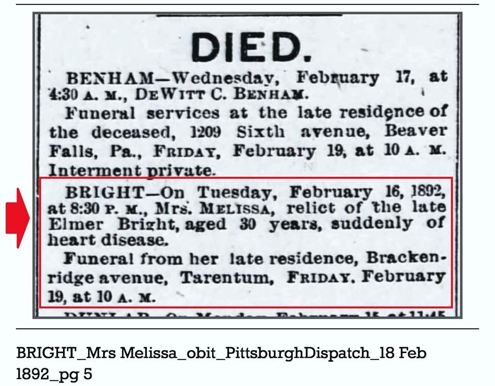 [BRIGHT_Mrs+Melissa_obit_PittsburghDispatch_18+Feb+1892_pg+5%5B7%5D]