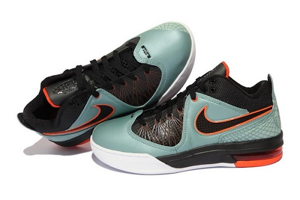 Nike Ambassador IV CannonBlackOrange 8211 GR vs Sample