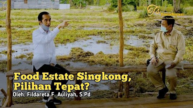 Food Estate Singkong, Pilihan Tepat?
