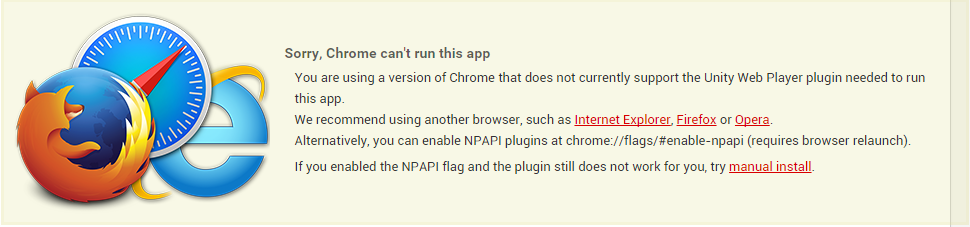 Google Chrome Browser Update Disables Unity Plugin | Rock ...
