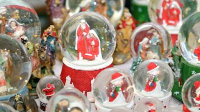 Boules de neige de Noël