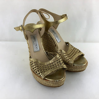 *SALE* Jimmy Choo Metallic Wedges