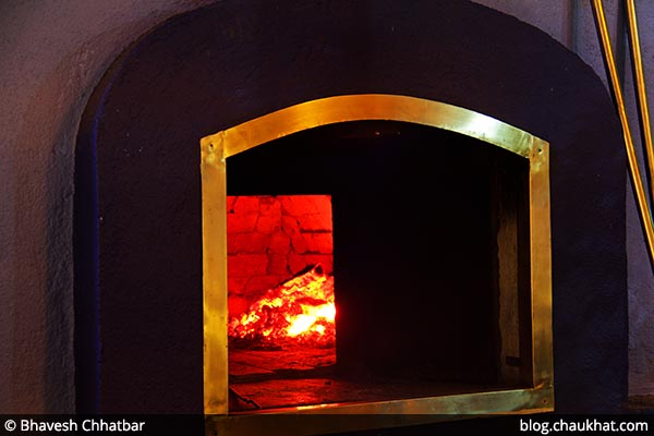 Woodfired Oven at Dezio, Kalyani Nagar, Pune