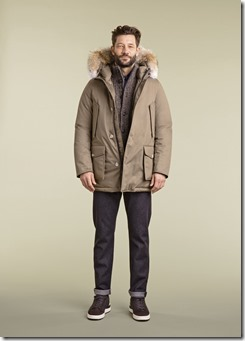 24 - WOOLRICH LAMINATED COTTON PARKA HC MENS FW17 COLLECTION