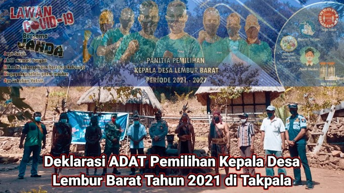Sejarah Baru Menuju Pilkades ADAT'S, Panitia Gelar Deklarasi di Mesbah Adat Takpala