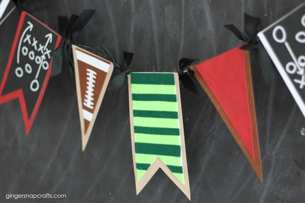 football party ideas at GingerSnapCrafts.com