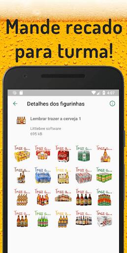 Figurinhas de cerveja - WAStickerApps screenshot 2