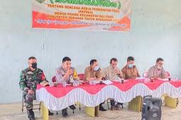 Bhabinkamtibmas Polsek Belitang Ajak Masyarakat Sukseskan Pembangunan Desa