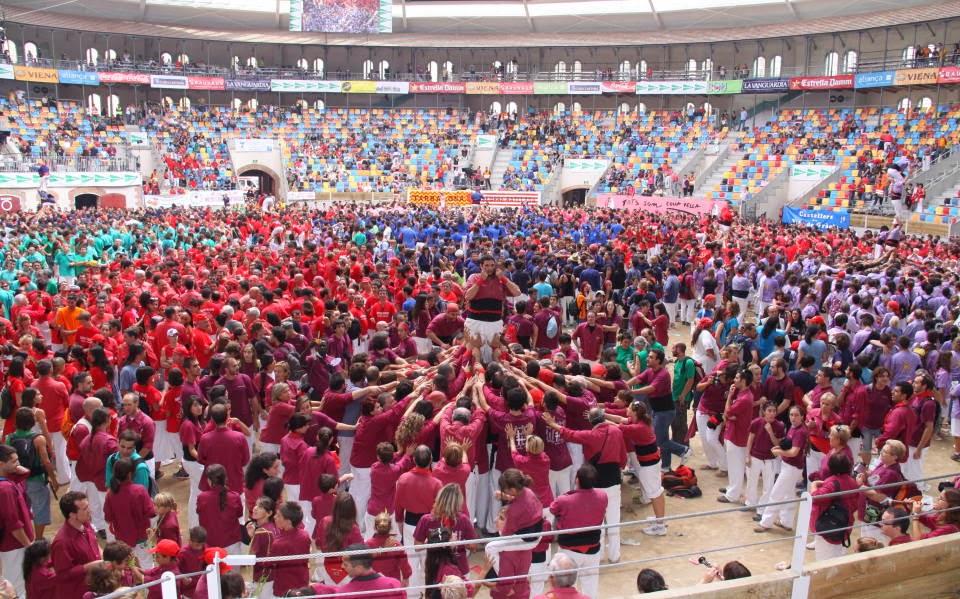 Concurs de Castells de Tarragona 3-10-10 - 20101003_222_Pd5_CdL_XXIII_Concurs_de_Castells.jpg