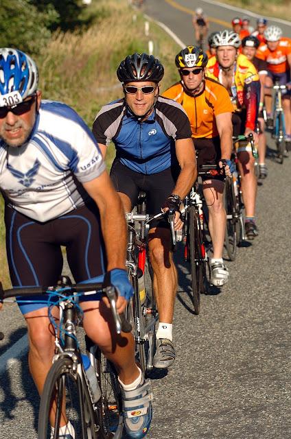 2009 Tour de Whatcom ridersCredit: Jon Brunk