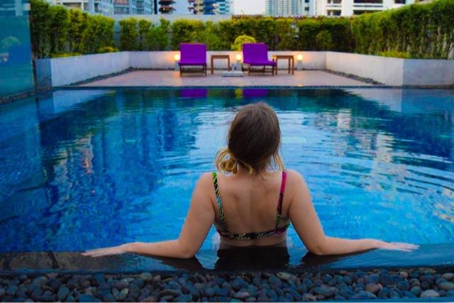 Luxury Hotel Pool Bangkok