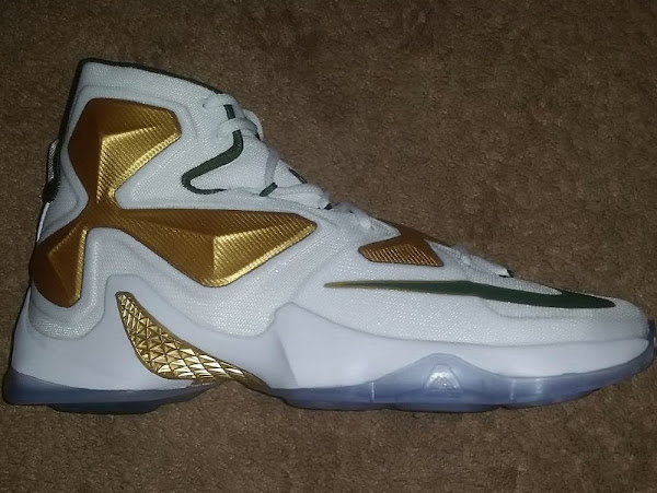 First Look at Nike LeBron 13 SVSM Home PE