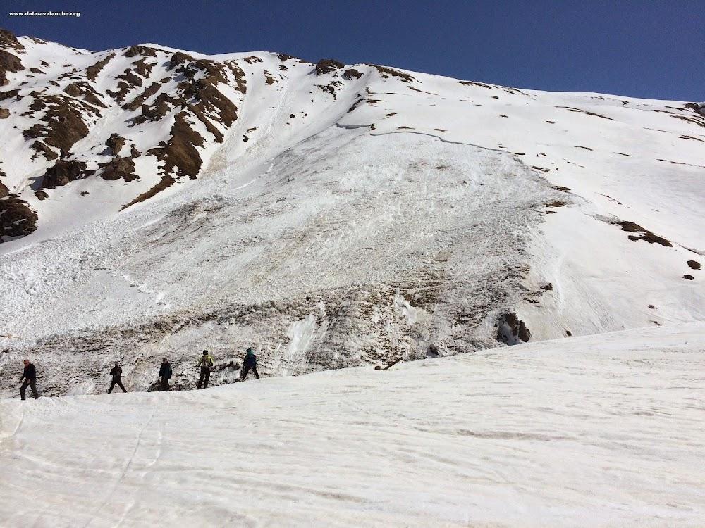 Avalanche Haute Tarentaise, secteur Val d'Isère, Pente des Lorès - Photo 1 - © Bois Aurélien