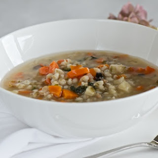 Barley And Kale Soup