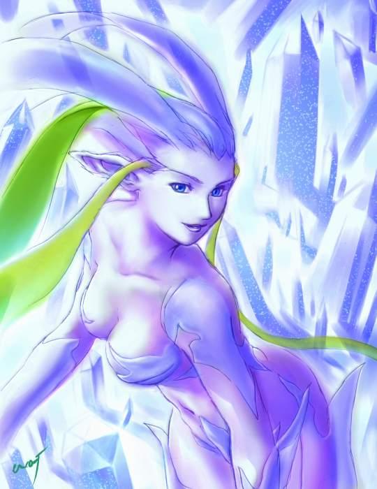 Shiva Final Fantasy, Warrior Girls 1