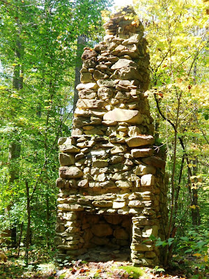 Old Chimney on Hannahs Creek Trail
