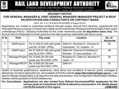 RLDA Vacancy Notice 2016-17