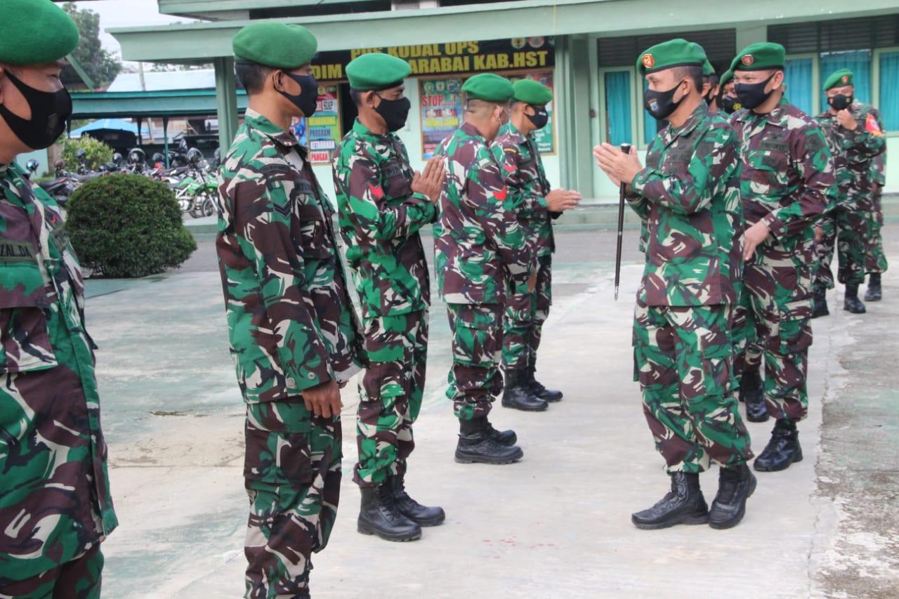 TNI-Polri Kawal Perayaan Paskah Umat Nasrani di Wilayah Kodim 0908/Bontang