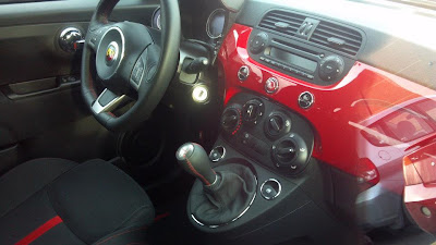 US 500 Abarth interior