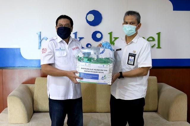 Andil Cegah Penyebaran Covid-19, Bank Kalsel Berikan APD untuk Petugas Medis
