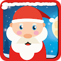 Funny Santa Claus icon
