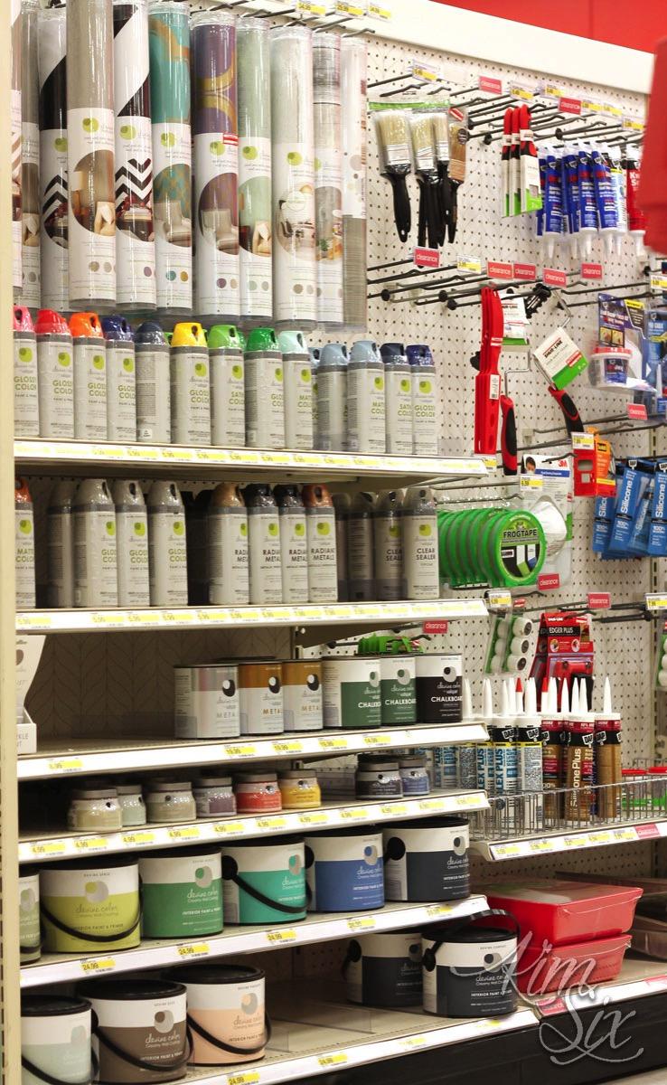 Target paint supplies