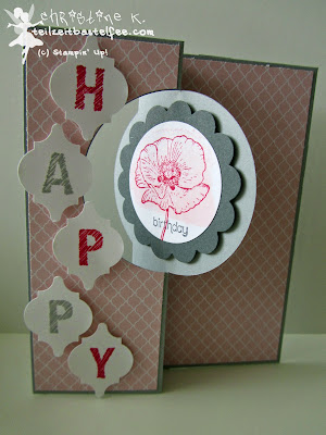 stampin up, inkspire_me #157, happy watercolor, dein tag, another great year, mosaic, sketched alphabet, wishes your way, geburtstag, birthday, flip card