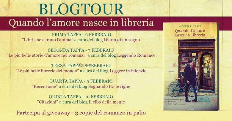 Banner Blogtour Quando l'amore nasce in libreria
