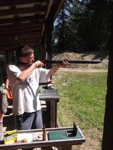 Matthew taking aim
