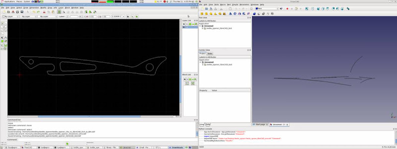 DXF import from LibreCAD - FreeCAD Forum