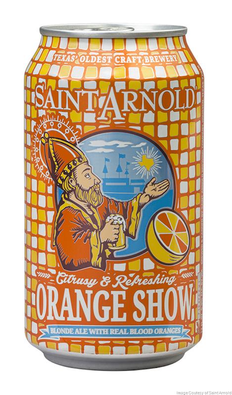 Saint Arnold Releases Orange Show Year-Round