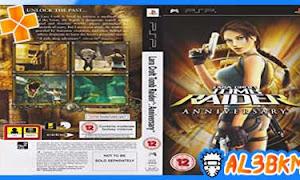 تحميل لعبة Tomb Raider: Anniversary psp iso مضغوطة لمحاكي ppsspp