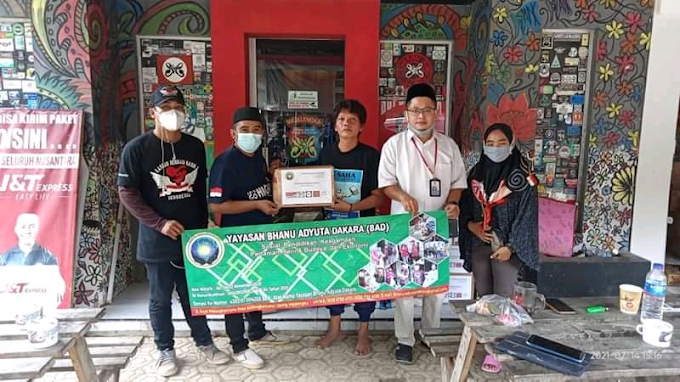 Yayasan Bhanu Adyuta Dakara Galang Dana Untuk Korban Banjir Majalengka