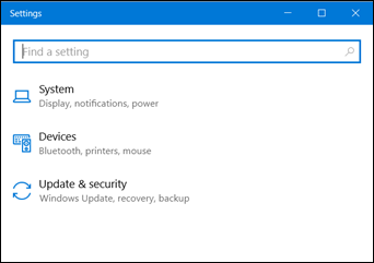 Reduced existing Windows 10 Settings pages (www.kunal-chowdhury.com)