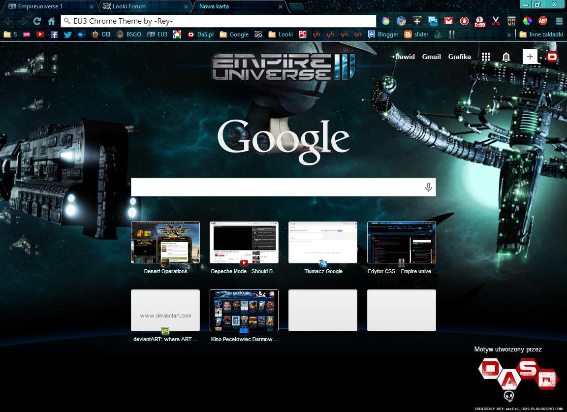 Google theme universe - Instalacja Korzystaj C Z Przegl Darki Google Chrome Kliknij Na Powy Szy Przycisk Aby Pobra Niewielki Plik Motywu Po Kilku Sekundach Pojawi Si Okienko