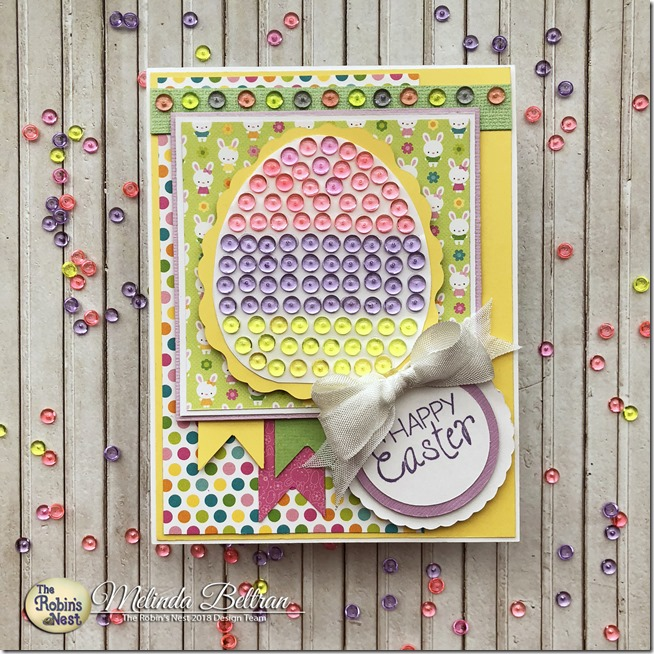 easter edd dew drop card top